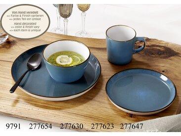 Speiseteller Visby blau