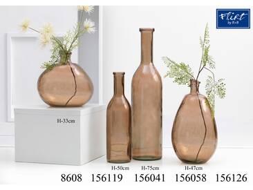 Bodenvase 50cm - Bodenvasen Bottiglia amber