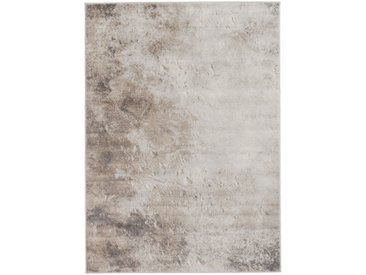 Vintage Teppich Kurzflor Braun | Used Look Amy Style | MY3728 | 160 cm x 230 cm
