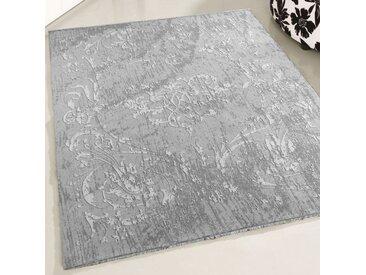 Teppich Waschbar Grau   Modernes Kelim Design   MY1000S   160x230 cm