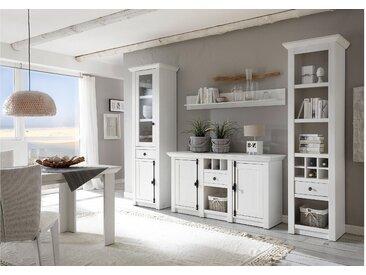 Stylefy Liliann Wohnwand Weiß