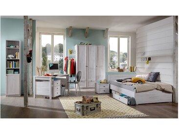 Stylefy Raoul Kinderzimmer-Set Eiche Bianco