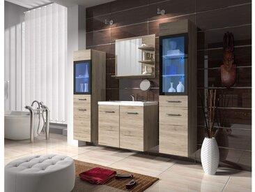Stylefy Udini Badezimmerset 4-teilige San Remo