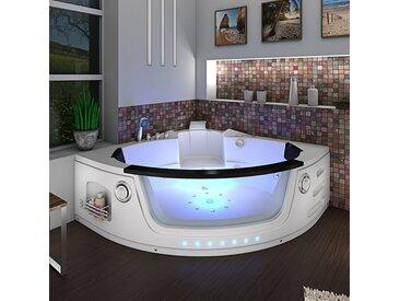 Whirlpool Pool Badewanne Eckwanne Wanne A1505-ALL 140x140cm Reinigungsfunktion ohne +0.-? Variante Luxus