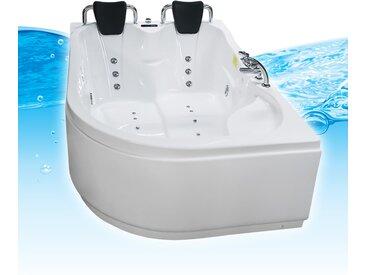 Whirlpool Pool Badewanne Eckwanne Wanne A2113H-ALL 120x182cm /...