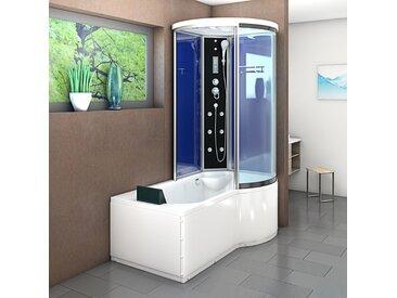 AcquaVapore DTP8055-A201L Wanne Duschtempel Badewanne Dusche Duschkabine 170x98