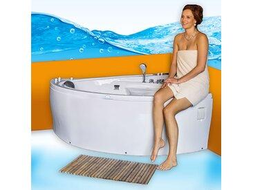 Eckwanne Whirlpool Pool Badewanne A615-ALL Reinigungsfunktion...