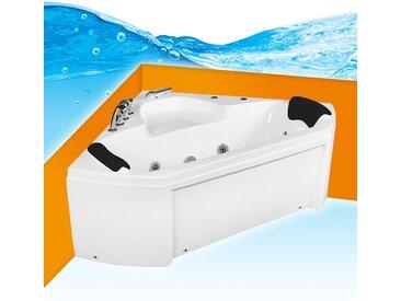 Whirlpool Pool Badewanne Eckwanne Wanne A1402-ALL 135x135 mit...