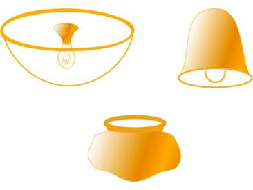 Ersatzglas für Globo Deckenventilator