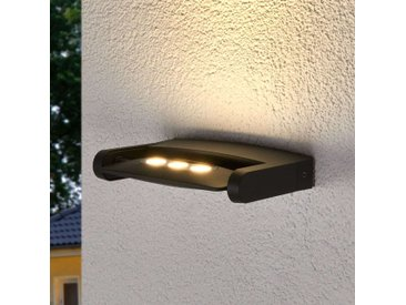 Außenwandstrahler Keiran mit 3 POWER-LEDs