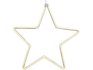 Dekorativer Stern aus LED-Lichtschlauch f. außen