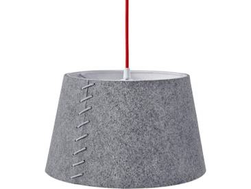 Aus grauem Filz - LED-Pendelleuchte Alice, 30 cm