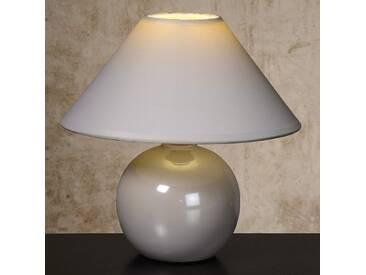 Tischlampe Faro, u.a. für Wohn & Esszimmer aus Keramik in Weiß von Lucide (1 flammig, E14, A++)