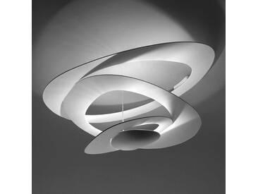 Deckenlampe Pirce Mini mit Dimmer, u.a. für Wohn & Esszimmer aus Aluminium in Weiß von Artemide (A+)