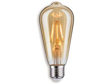 Paulmann LED-Rustikalampe E27 4W in Gold