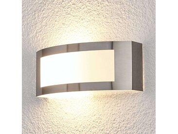 Außenwandlampe Raja aus Edelstahl