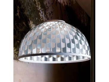 Slamp Dome LED-Hängeleuchte Ø 75 cm blau
