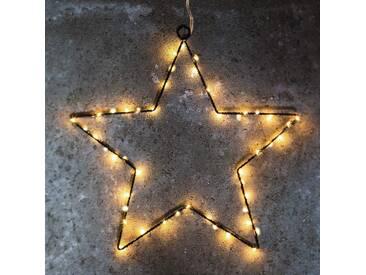 Wirkungsvoller Deko-Stern LED Liva Star schwarz 70