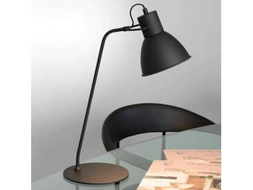 Tischlampe Shadi, u.a. für Büro aus Metall in Schwarz von Lucide (1 flammig, E14, A++)