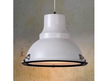 Pendelleuchte Factory mit Dimmer, u.a. für Wohn & Esszimmer aus Metall in Weiß von Lucide (1 flammig, E27, A++)