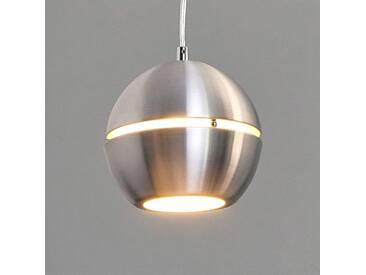 Pendelleuchte Volo mit Dimmer, u.a. für Wohn & Esszimmer aus Aluminium in Alu von Lucide (1 flammig, E27, A++)