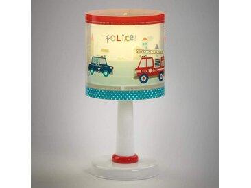 Kinder-Tischleuchte Police mit Motiv