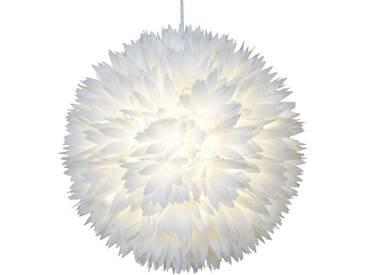 Pendelleuchte Flower mit Dimmer, u.a. für Wohn & Esszimmer aus Kunststoff in Weiß von Naeve Leuchten (1 flammig, E27, A++)