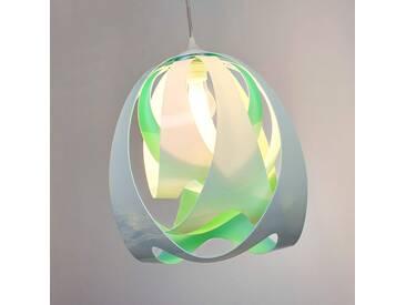 Pendelleuchte Goccia, u.a. für Wohn & Esszimmer aus Kunststoff in Grün von Slamp (1 flammig, E27, A++)