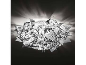Deckenlampe Veli, u.a. für Wohn & Esszimmer aus Kunststoff in Chrom von Slamp (1 flammig, E14, A++)