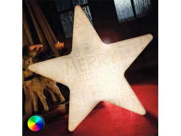 LED-Stern Shining Star Merry Christmas m.