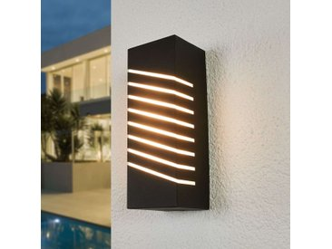 Schräg gestreifte LED-Außenwandlampe Konstantina