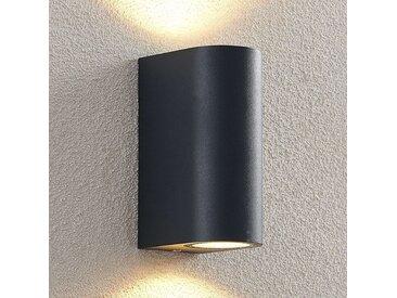 ELC Fijona LED-Außenwandlampe, rund, 15 cm