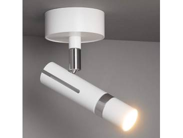 LDM Kyno Spot Uno LED-Deckenstrahler, weiß-chrom
