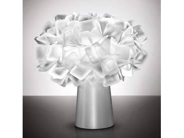 Tischlampe Clizia, u.a. für Wohn & Esszimmer aus Kunststoff in Weiß von Slamp (1 flammig, E14, A++)