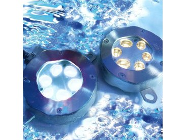 Unterwasser-Bodeneinbauleuchte LED, tageslicht