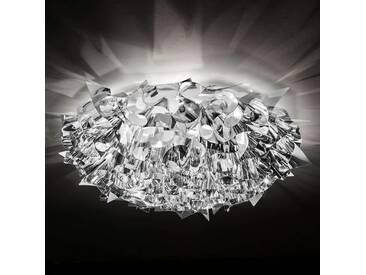 Deckenlampe Veli, u.a. für Wohn & Esszimmer aus Kunststoff in Chrom von Slamp (3 flammig, E27, A++)