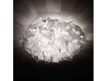 Deckenlampe Veli, u.a. für Wohn & Esszimmer aus Kunststoff in Transparent von Slamp (3 flammig, E27, A++)