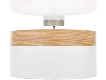 Abstands-Deckenlampe Libba creme-holz