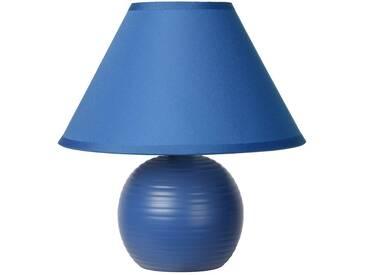 Tischlampe Kaddy, u.a. für Wohn & Esszimmer aus Keramik in Blau von Lucide (1 flammig, E14, A++)
