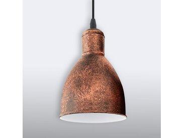 """Pendelleuchte """"Priddy 1"""" mit Dimmer, u.a. für Wohn & Esszimmer aus Metall in Kupfer von """"EGLO"""" (1 flammig, E27, A++)"""