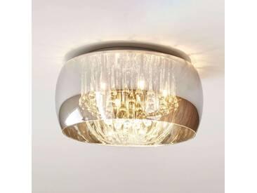 Deckenlampe Pearl mit Dimmer, u.a. für Wohn & Esszimmer in Transparent von Lucide (6 flammig, G9, A++)