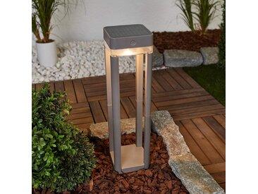 Mit Schalter - LED-Solar-Wegeleuchte Table Cube