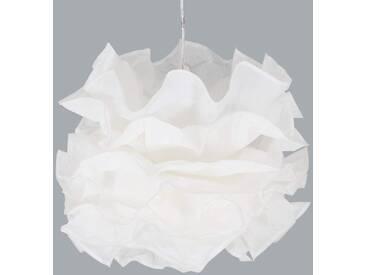 Pendelleuchte Fiona mit Dimmer, u.a. für Schlafzimmer aus Kunststoff in Weiß von Naeve Leuchten (1 flammig, E27, A++)
