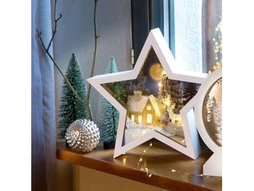 LED-Stern Winterliche Nacht 3D