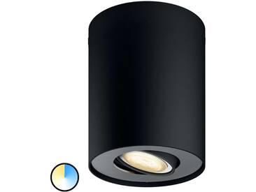 Philips Hue Pillar LED-Spot 1flg. schwarz Dimmsch.