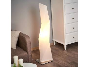 Stehlampe Diamond, u.a. für Wohn & Esszimmer aus Kunststoff in Weiß von Slamp (1 flammig, E27, A++)