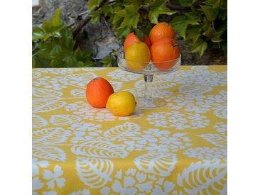 Gartentischdecke Hortensie Gelb