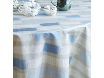 Gartentischdecke Streifen Blau