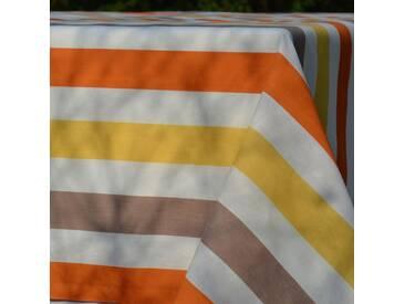 Gartentischdecke Streifen Gelb
