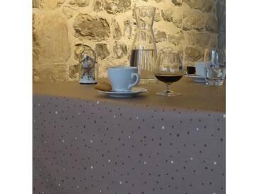 Tischdecke abwaschbar Sterne Braun